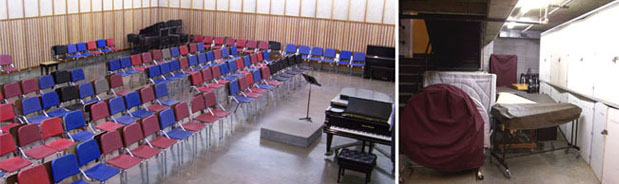 Class Rooms and Rehearsal Rooms